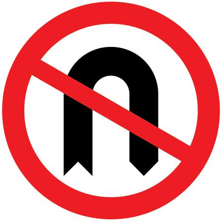regulatory-signs - no u turn