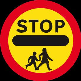regulatory-signs - school crossing