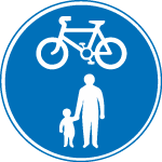regulatory-signs - shared route