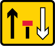road-works-and-temporary - lane closed