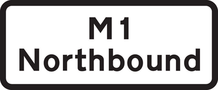 road-works-and-temporary - m1 northbound