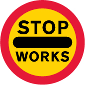 road-works-and-temporary - stop roadworks