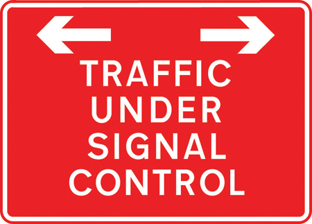 road-works-and-temporary - traffic under signal control
