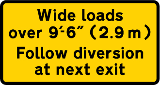 road-works-and-temporary - wide loads diversion