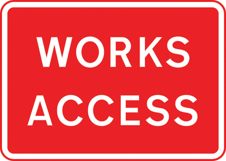road-works-and-temporary - works access