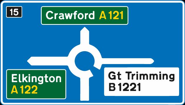 roundabouts - motorway roundabout 2