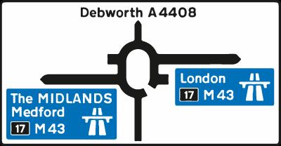roundabouts - motorway roundabout