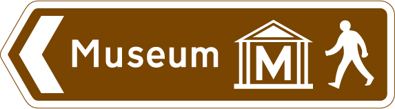 signs-for-cyclists-and-pedestrians - museum