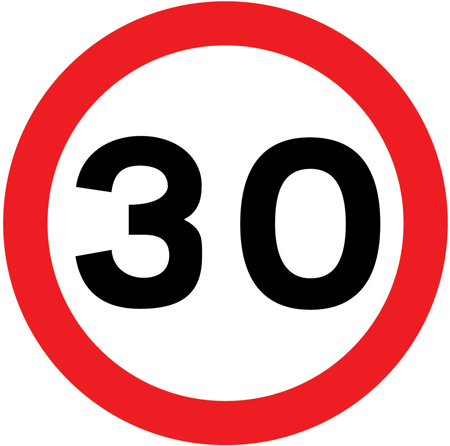 speed-limit-signs - max 30