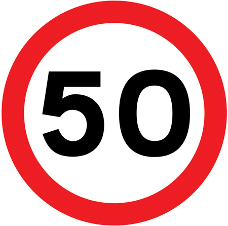 speed-limit-signs - max 50