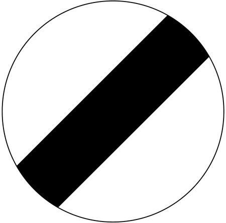 speed-limit-signs - national speed limit