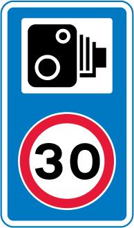 speed-limit-signs - speed camera 30