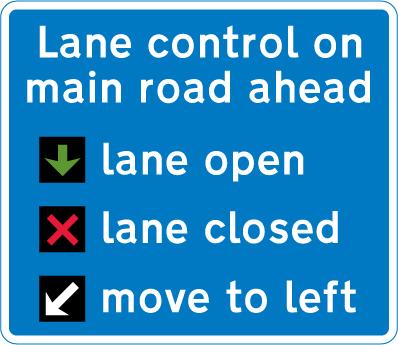 tidal-flow-lane-control - lane control instructions