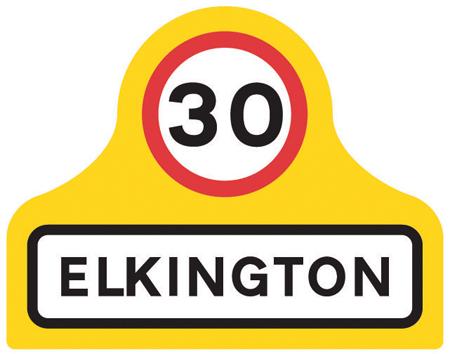 traffic-calming - elkington village speed limit
