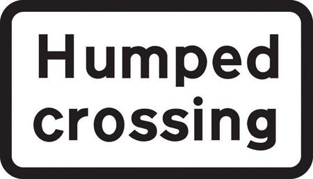 traffic-calming - humbed crossing plagte