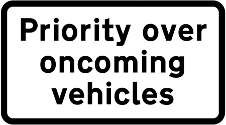 traffic-calming - prioity plate
