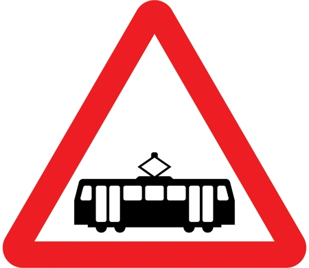 tram-signs - trams