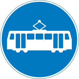 tram-signs - way for trams
