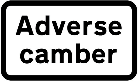 warning-signs - adverse camber plate