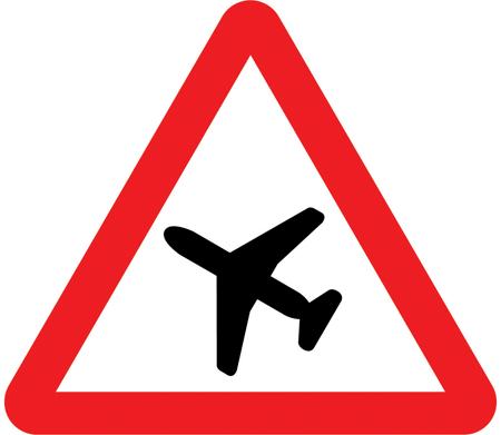 warning-signs - aeroplanes