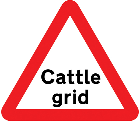 warning-signs - cattle grid