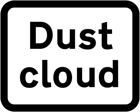 dust cloud