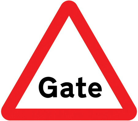 warning-signs - gate