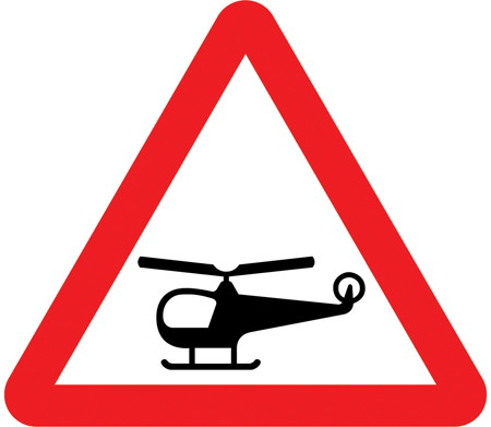 warning-signs - helicopters overhead