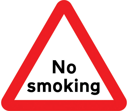 warning-signs - no smoking