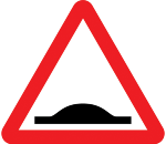 warning-signs - speed bumps
