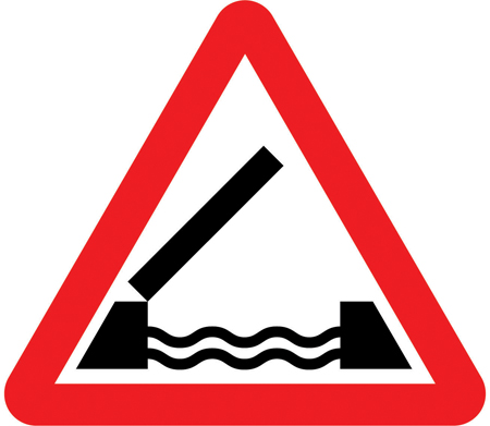 warning-signs - swing bridge