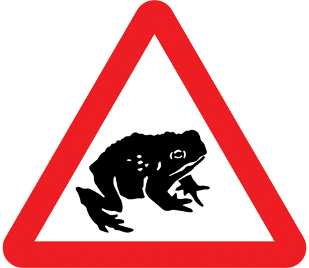 warning-signs - toads