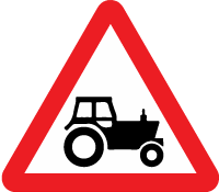 warning-signs - tractor