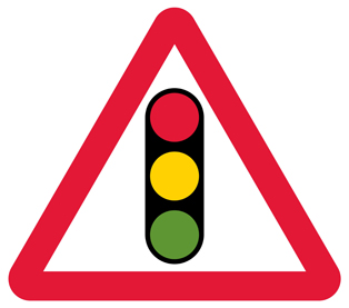 warning-signs - traffic lights