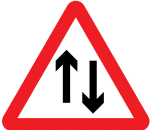warning-signs - two way traffic