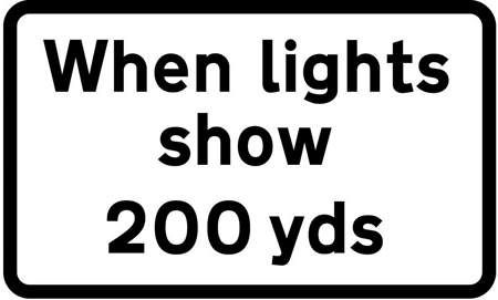 when lights show 200